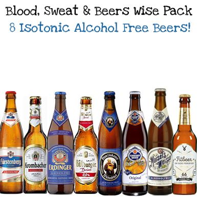 'Blood, Sweat and Beers' 8 bottle Isotonic Wise Pack (Save 8%)