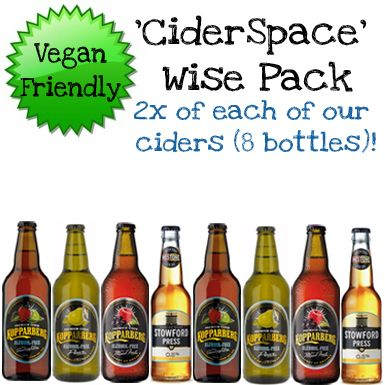 'Cider Space' Wise Pack (Save 10%)