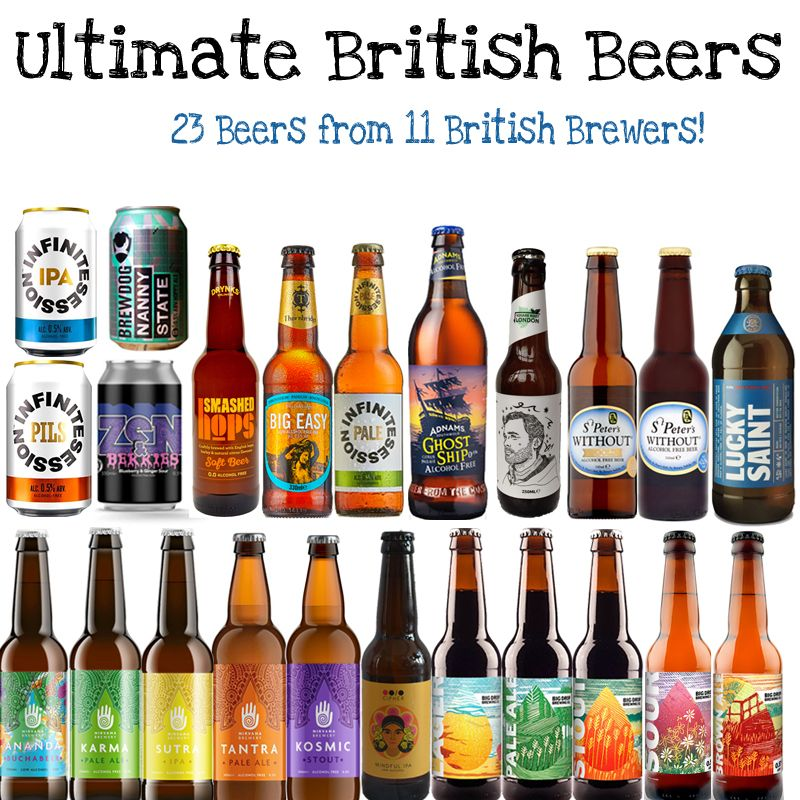 'Ultimate British Beers' Wise Pack (Save 8%)