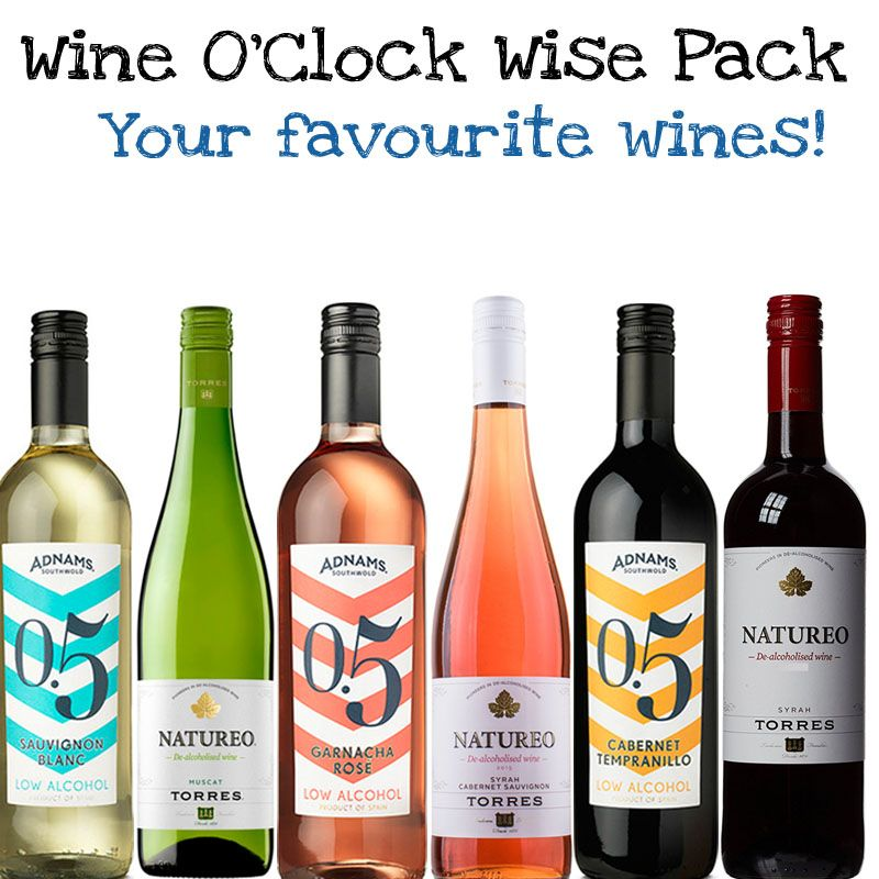 'Wine O'Clock' Wise Pack (Save 5%)