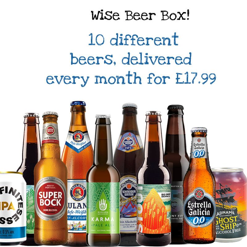 Wise Beer Box' 10 beers delivered every month!