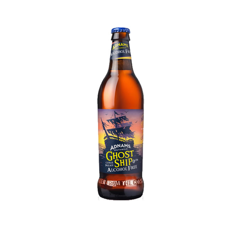 Adnams Ghost Ship Alcohol Free Beer (0.5% ABV)