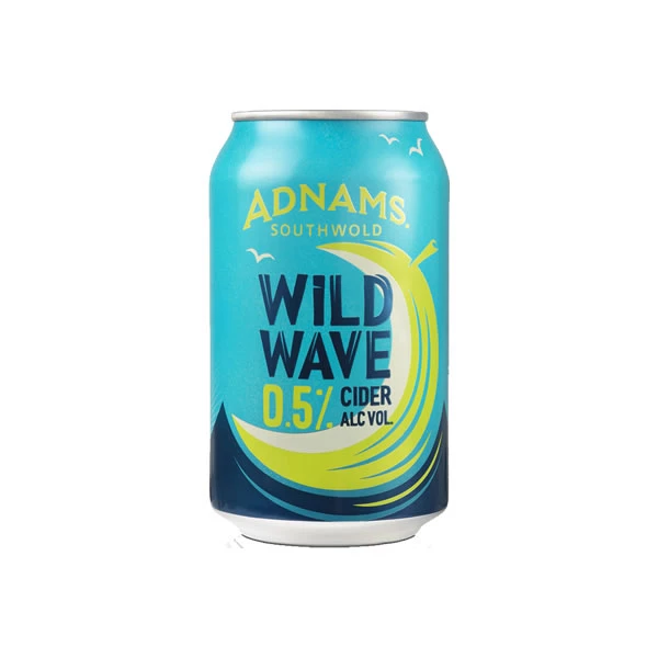 Adnams Wild Wave  Low Alcohol Cider Can (0.5% ABV)