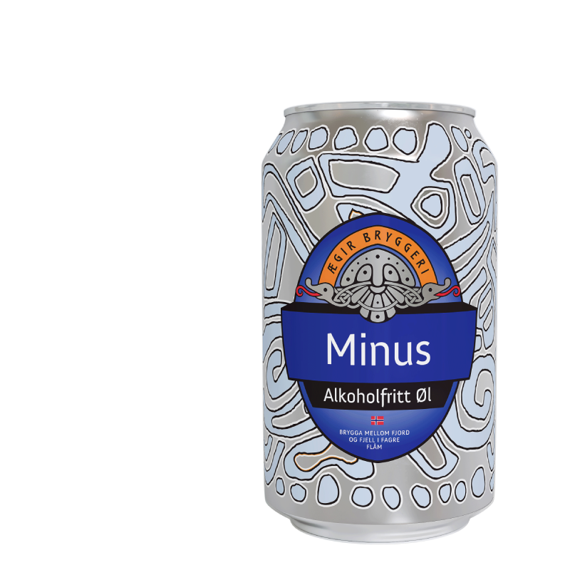 Aegir Brewery Minus Alcohol Free Pale Ale  (0.5% ABV)