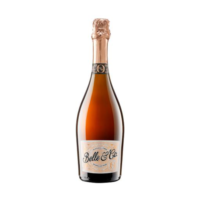 Belle & Co (Bees Knees)  Alcohol Free Sparkling Rose (0% ABV)