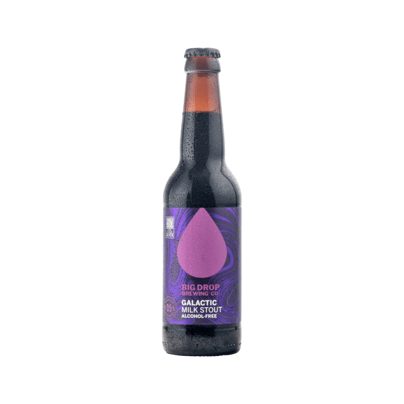 Big Drop Galactic Alcohol Free Milk Stout (0.5% ABV)