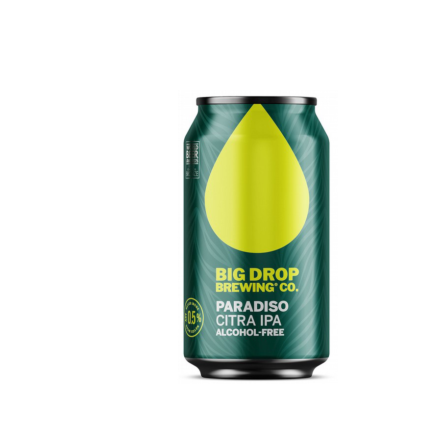Big Drop Paradiso Alcohol Free Citra Four Hop Pale Ale Can (0.5% ABV)