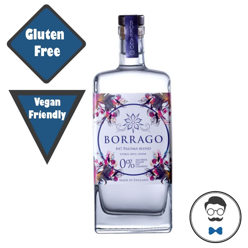Borrago #47 Paloma blend (0% ABV) Alcohol Free Spirit