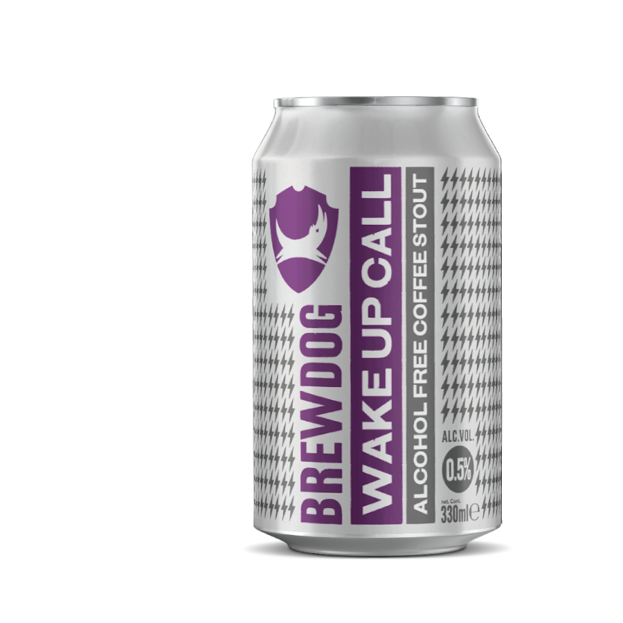 BrewDog Wake Up  Alcohol Free Stout  Can  (0.5% ABV)