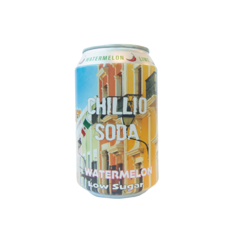 Chillio Watermelon & Jalapeño (0% ABV)