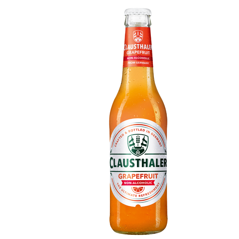 Clausthaler Grapefruit Alcohol Free Beer (<0.5% ABV)