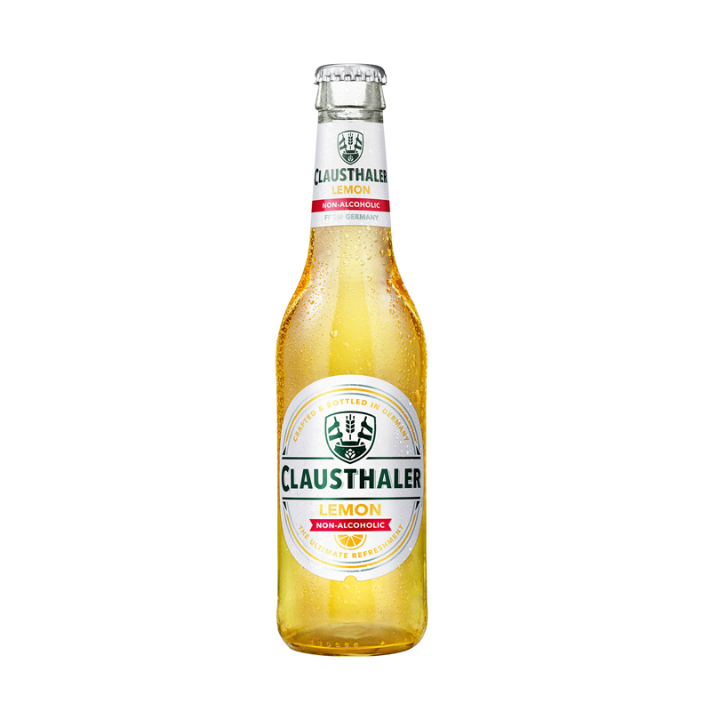 Clausthaler Lemon Alcohol Free Beer (<0.5% ABV)
