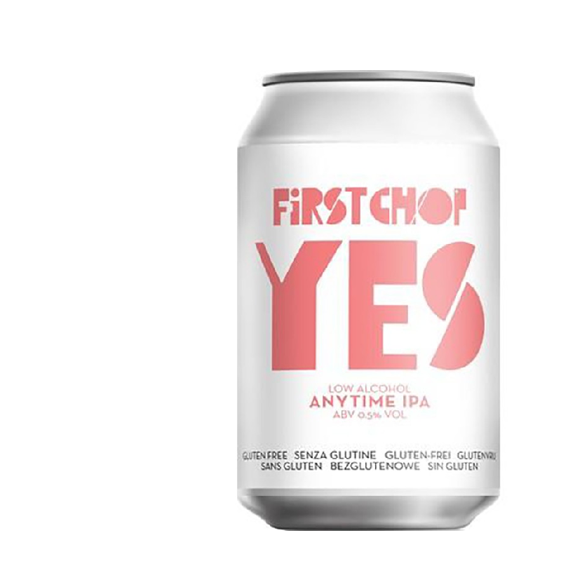First Chop Yes Anytime Alcohol Free IPA (0.5% ABV)