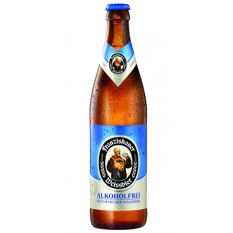Franziskaner Weissbier Alcohol Free Beer (0.5% ABV)