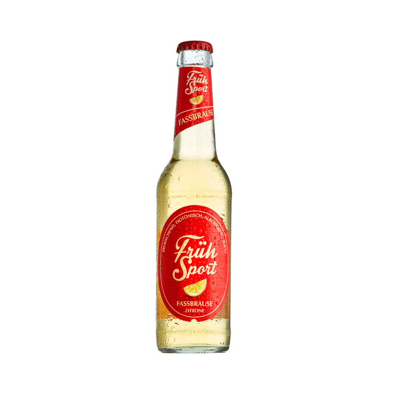 Fruh Sport alcohol-free beer (0% ABV)