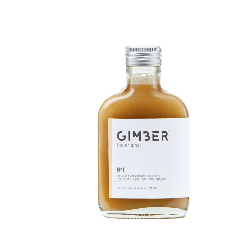 GIMBER Alcohol Free Ginger Drink (0% ABV)
