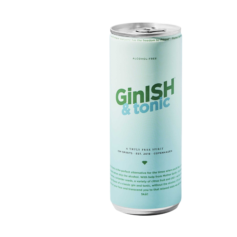 GinISH & Tonic (0.4% ABV)