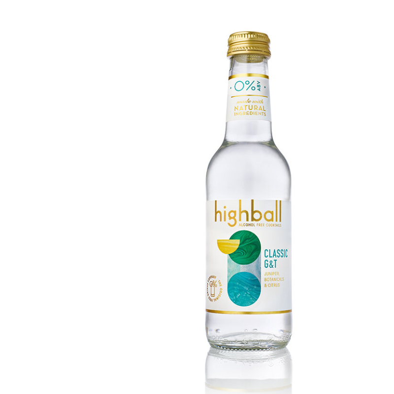 Highball Alcohol Free Gin & Tonic (0% ABV)