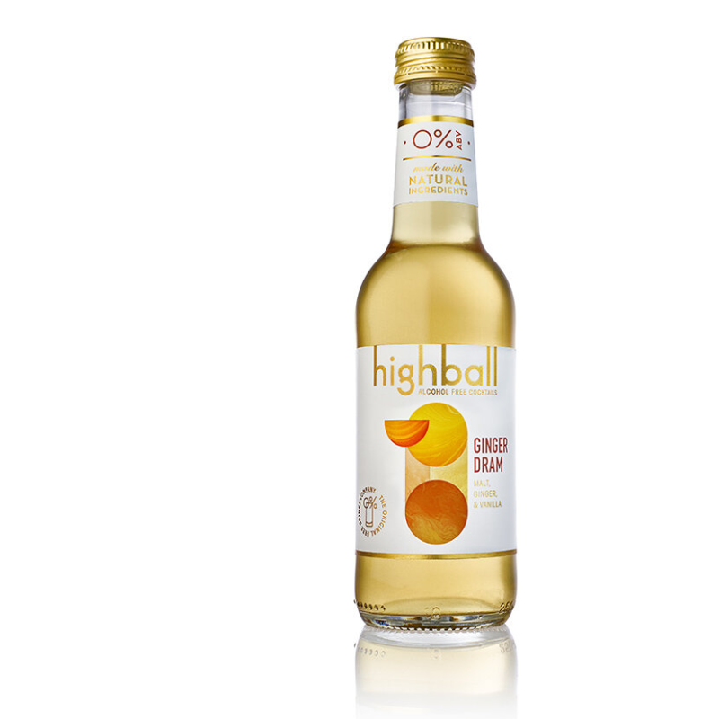 Highball Alcohol Free Ginger Dram (0% ABV)
