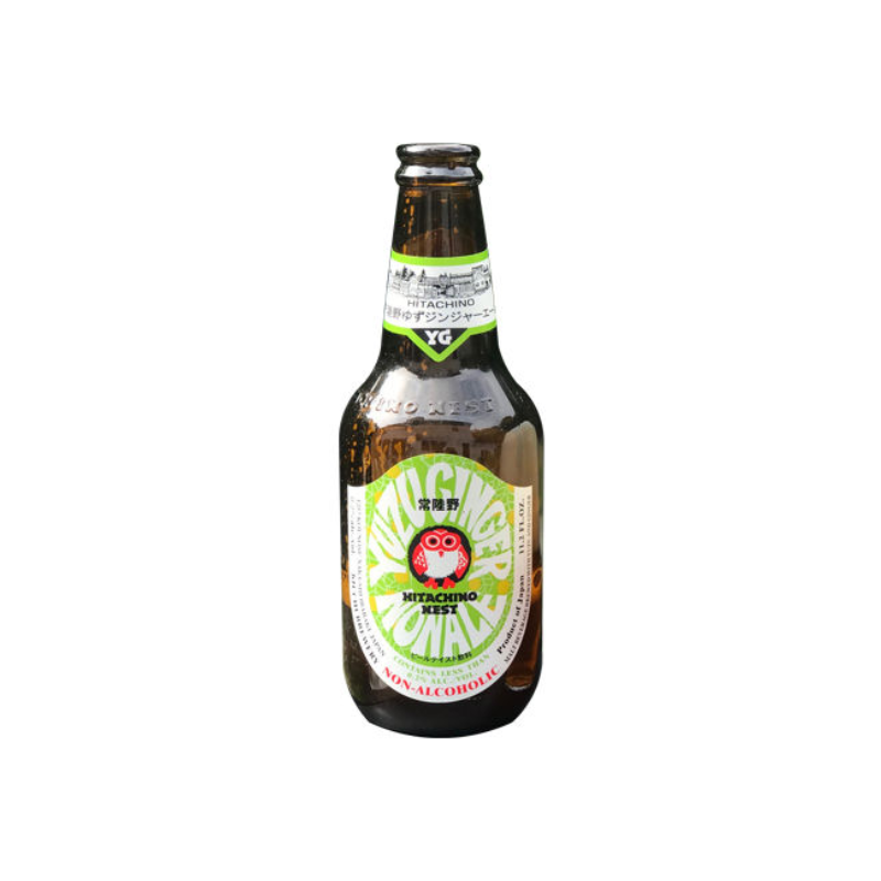 Hitachino Nest Yuzu Ginger Ale Low Alcohol Beer (0.3% ABV)