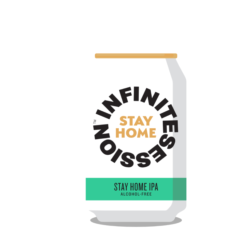 Infinite Session Alcohol Free Stay Home IPA (0.5%)
