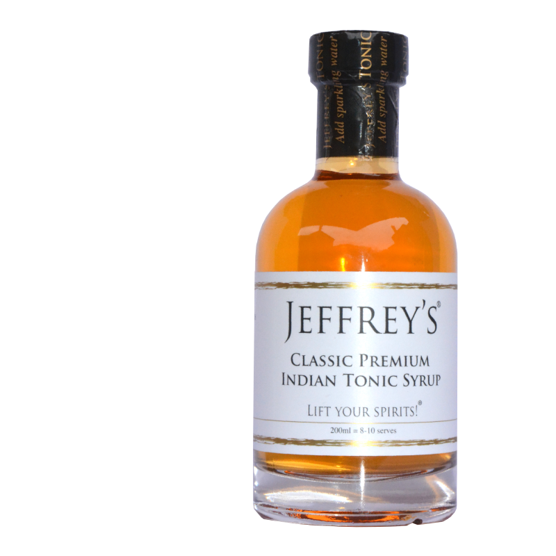 Jeffrey's Classic Premium Indian Tonic Syrup (0% ABV)