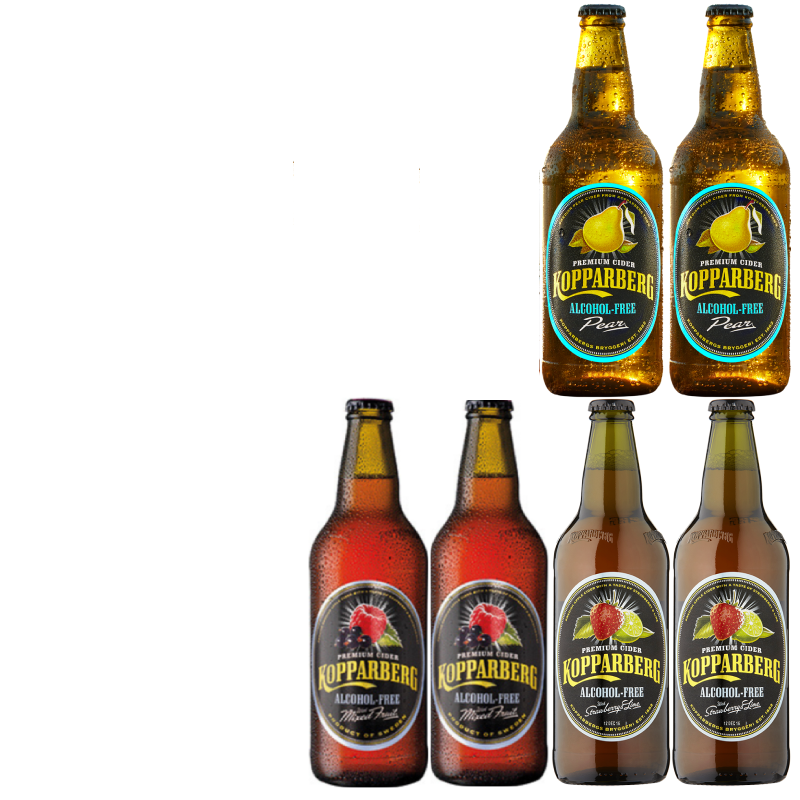 Koppa -Cider' 6 bottle Wise Pack (Save 5%)