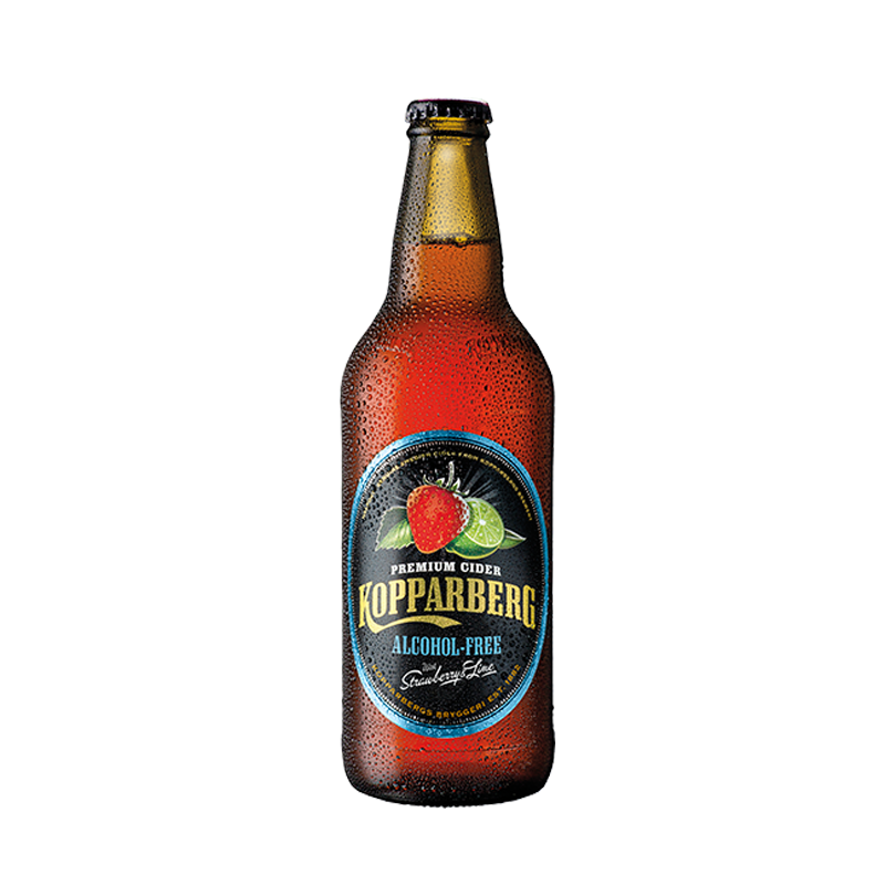 Kopparberg Strawberry & Lime Non Alcoholic (0.05% ABV)