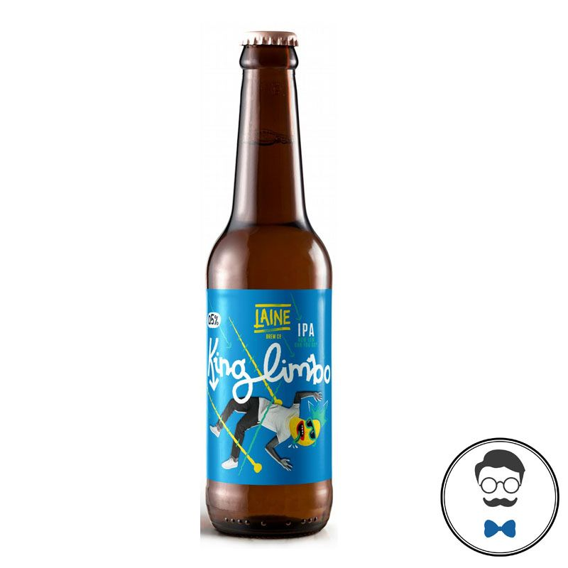 Laine Brew Co King Limbo  Alcohol Free Red IPA Beer (0.5% ABV)