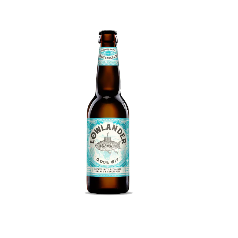Lowlander Wit Alcohol Free Beer (0.0% ABV)