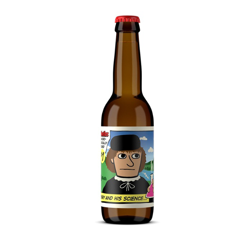 Mikkeller Henry & His Science Alcohol Free Beer (0.3% ABV)