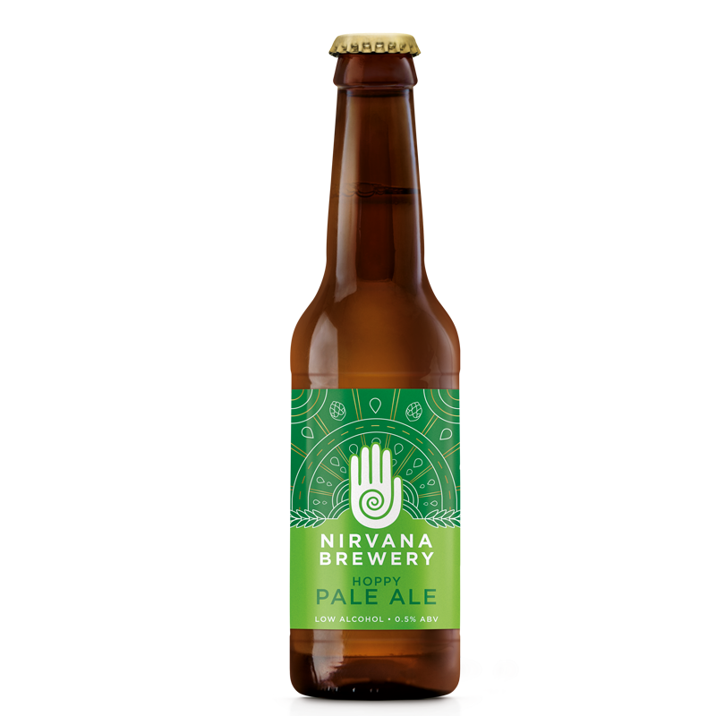 Nirvana Hoppy Pale Ale (Karma) Alcohol Free Beer (0.5% ABV)