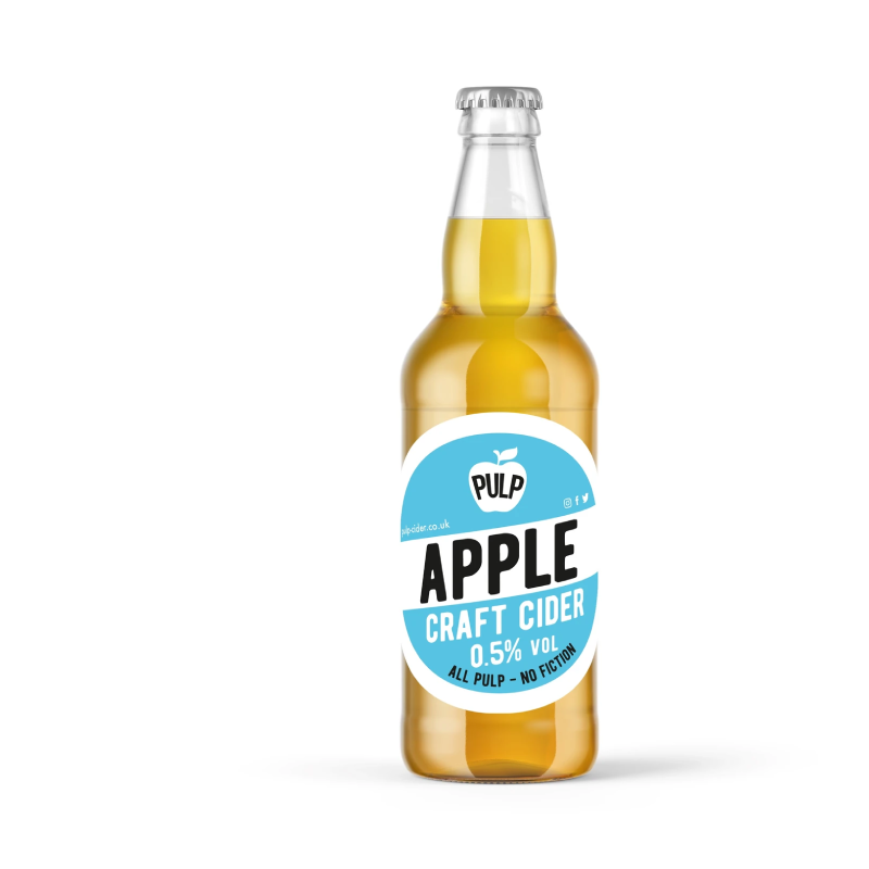 PULP Apple Alcohol Free Cider (0.5%ABV)