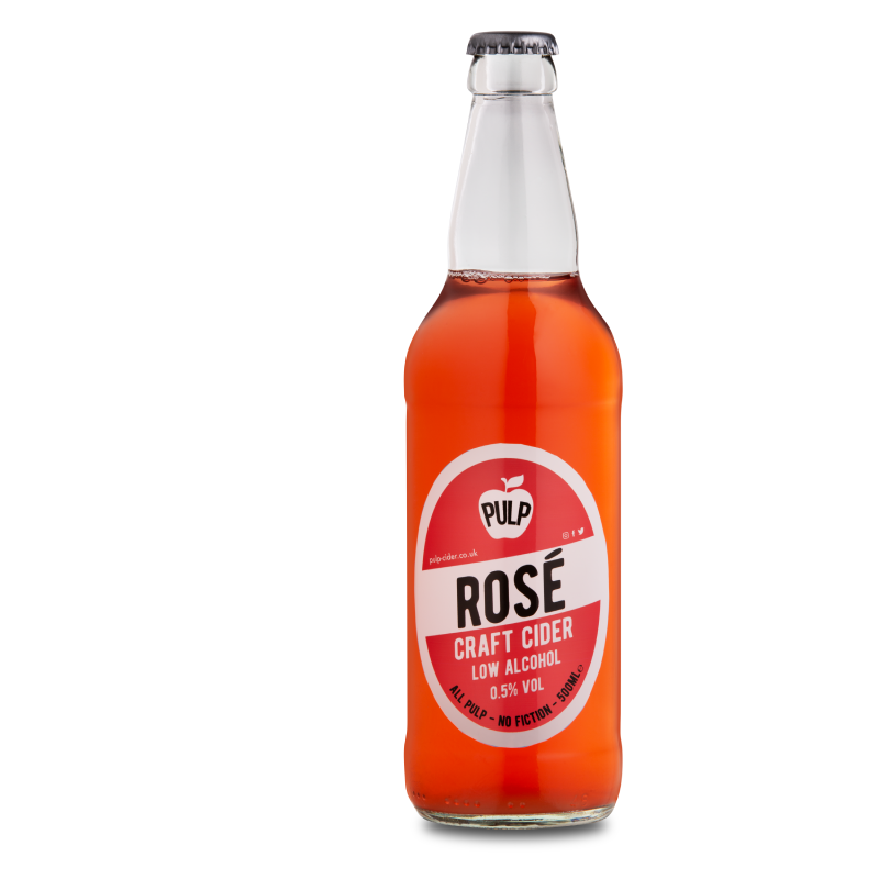 PULP Rosé Alcohol Free Cider (0.5%ABV)
