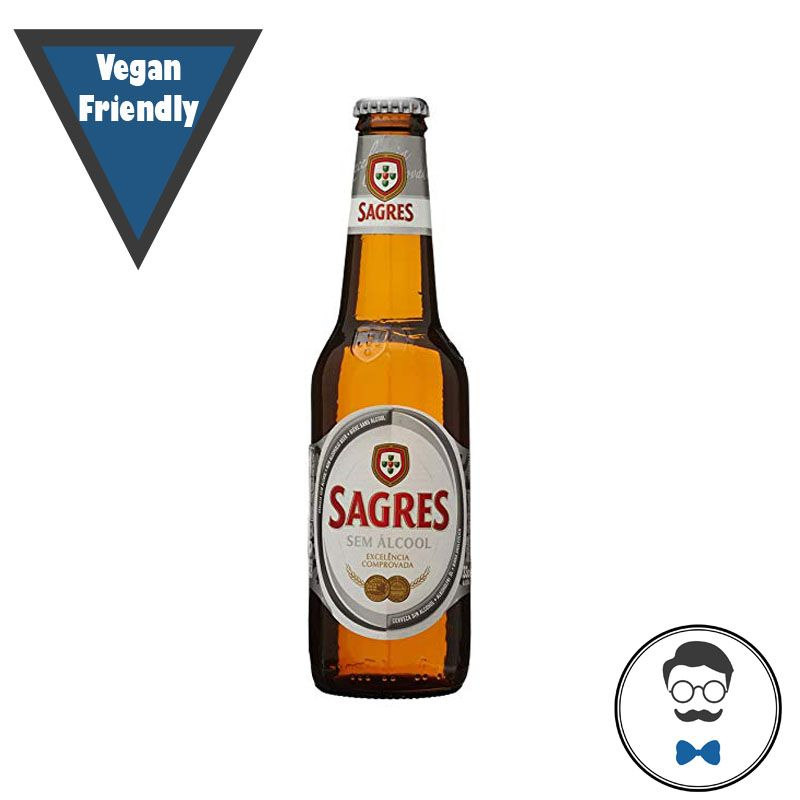 Sagres Alcohol Free Beer (0.3% ABV)