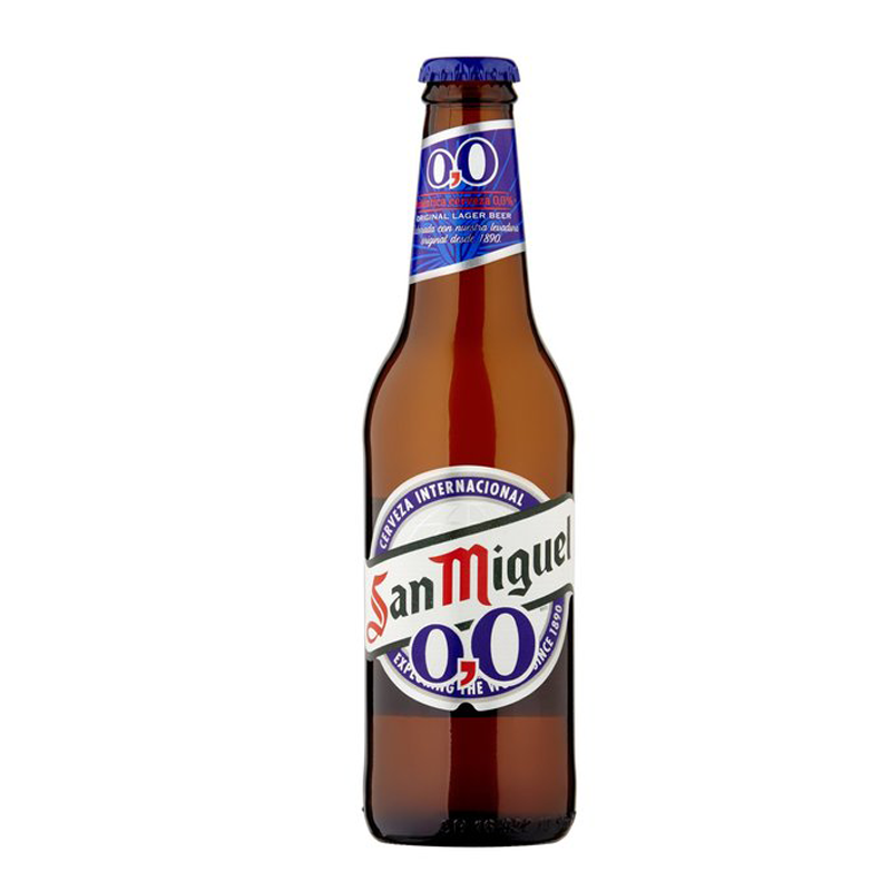 San Miguel 0,0 Alcohol Free Lager (0% ABV)