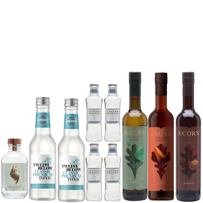 Seedlip Aecorn Cocktail Pack (save 10%) + FREE DELIVERY