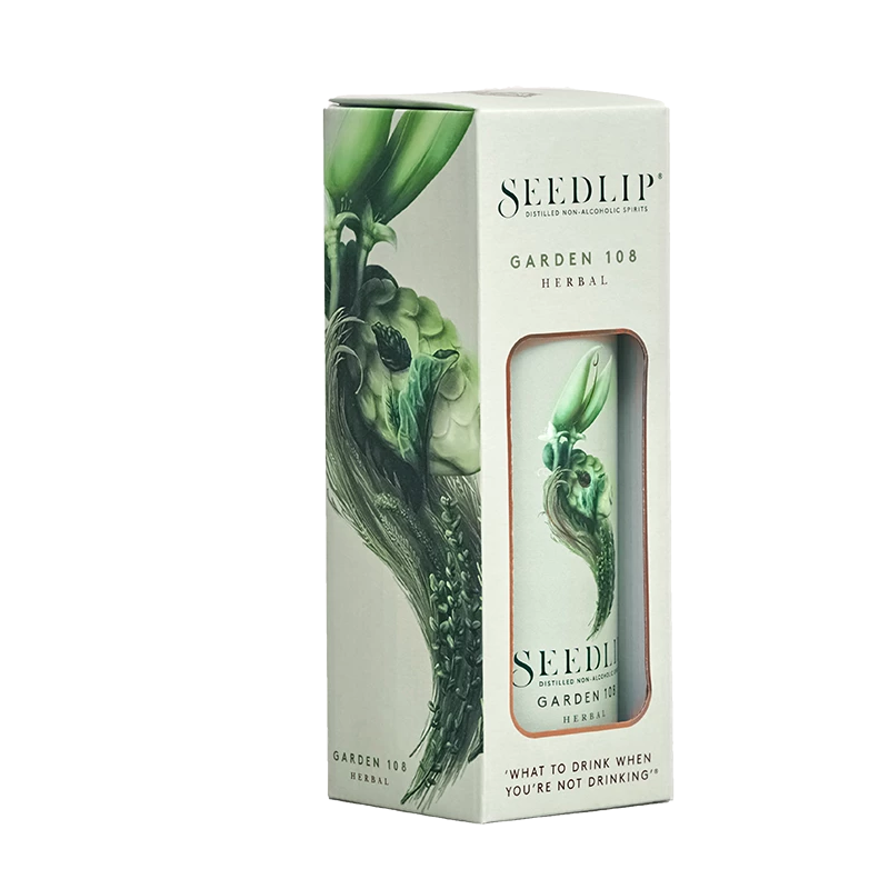 Seedlip Garden 108 70cl Gift Boxed (0% ABV)