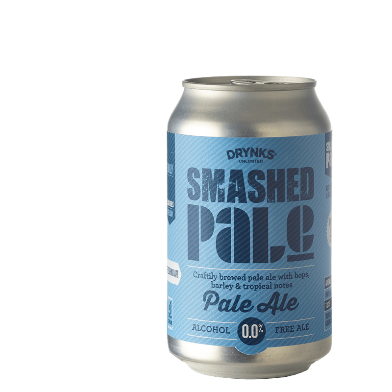 Smashed  Alcohol Free Pale Ale Can (0.05% ABV)