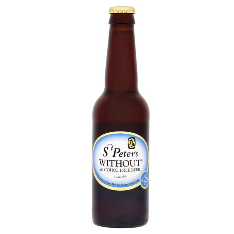 St Peter's Without® Alcohol Free Beer  (0% ABV)
