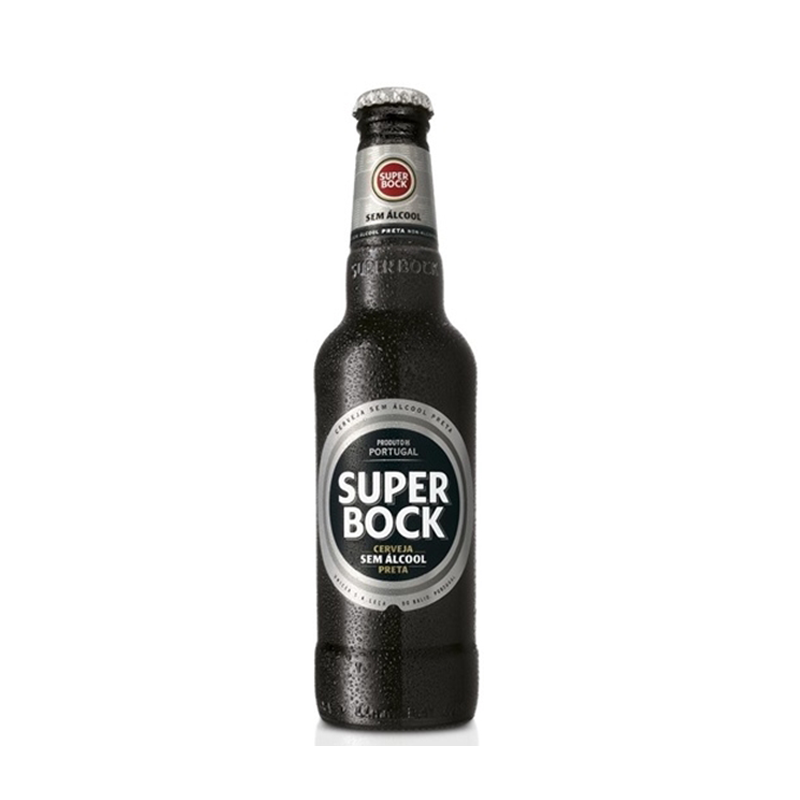 Super Bock Alcohol Free Stout (0.5% ABV)