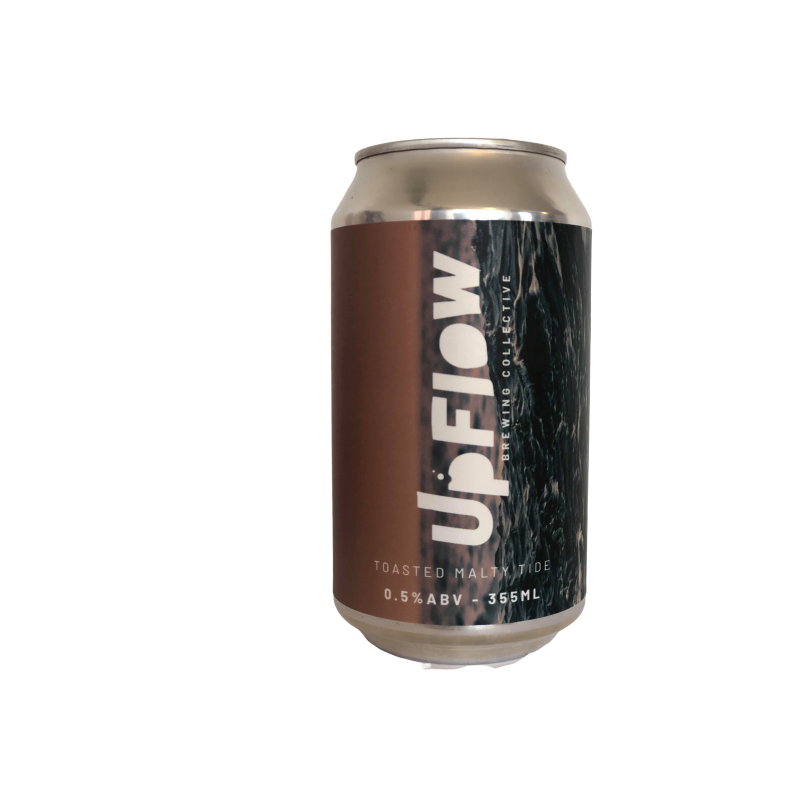 UpFlow Toasted Malty Tide  Alcohol Free Beer (0.5% ABV)